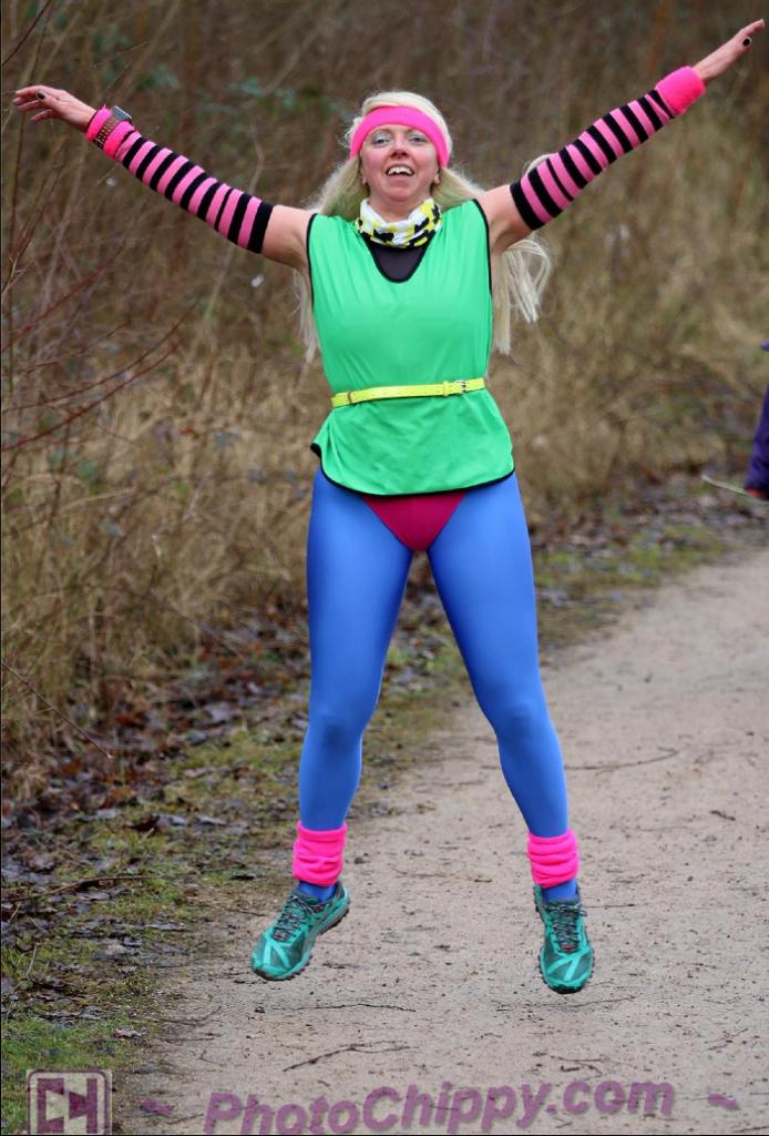 Conkers parkrun #259 Heidi in pacing jumper